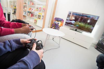 Photo de l'espace jeux-vidéo