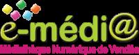 Logo de service de Médiathque Numérique E-médi@