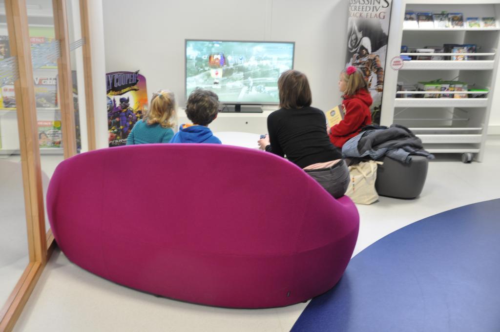 Espace jeux vidéo