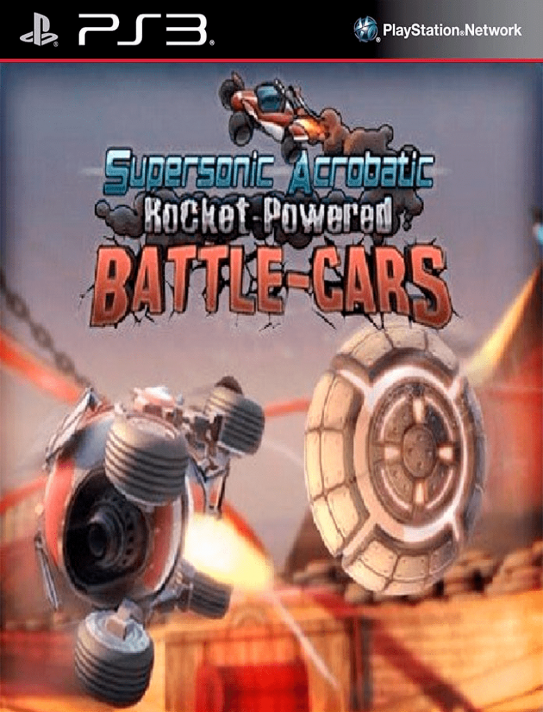 Supersonic Acrobatic Rocket-Powered Battle Cars